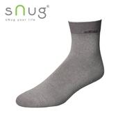 《台灣製SNUG》休閒短襪-灰(20-22cm)