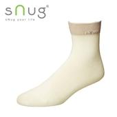 《台灣製SNUG》休閒短襪-米白22-24cm