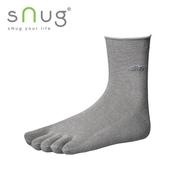 《台灣製SNUG》五指襪 22-24cm(灰)