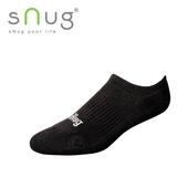 《台灣製SNUG》運動船襪-黑(22-24cm)