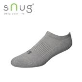 《台灣製SNUG》運動船襪-灰(22-24cm)