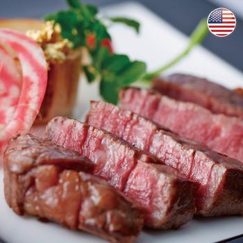 《欣明生鮮》美國PRIME藍絲帶霜降牛排(240g±10%/-2片/包)(*3包組)