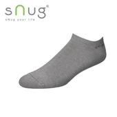 《台灣製SNUG》船襪-灰(20-22cm)