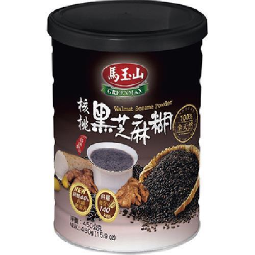 馬玉山 罐裝核桃黑芝麻糊(450g)