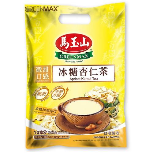 馬玉山 冰糖杏仁茶(30G*12入)