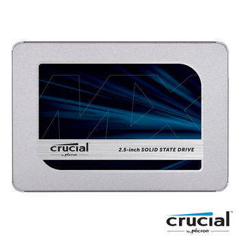 美光 Crucial MX500 500G/7mm/讀:560M/寫:510M/64層3D TLC/五年保固 SSD 固態硬碟(MX500 500GB)