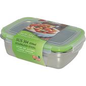 《Dr.RIN》304不鏽鋼保鮮盒850ml(18.5x13.5x6.7cm / ES0047)