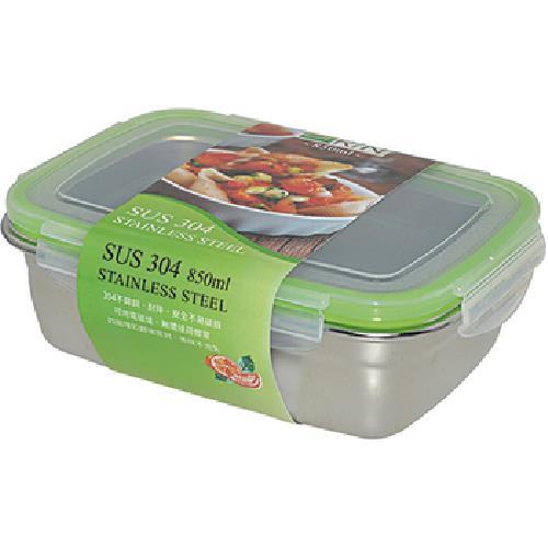 Dr.RIN 304不鏽鋼保鮮盒850ml(18.5x13.5x6.7cm / ES0047)