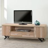 《Homelike》夏佐5尺電視櫃(原木色)