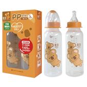 《優生》喜多PP奶瓶(一般直筒L(240ml*2入)