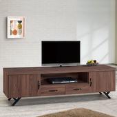 《Homelike》尚恩6尺電視櫃(胡桃)