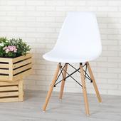 《Homelike》菲爾造型椅(亮麗白)