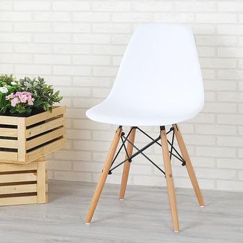 Homelike 菲爾造型椅(亮麗白)