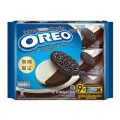 《OREO 奧利奧》黑白巧克力口味三明治隨手包(264.6g)