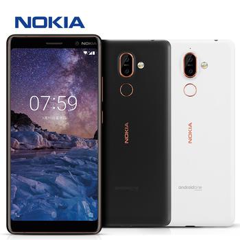 諾基亞 Nokia 7 plus 64G 6吋蔡司鏡頭智慧型手機(月蘊黑)