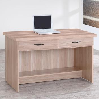 Homelike 伊絲4尺二抽書桌