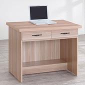 《Homelike》伊絲3尺二抽書桌