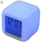 月陽七彩變色多功能萬年曆溫度計貪睡鬧鐘(CK-20)
