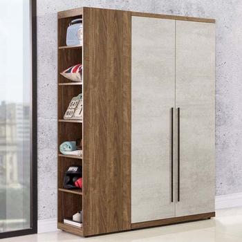 《Homelike》格林3.7尺衣櫃(雙色)