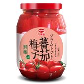 《可果美》鮮釀梅子番茄1kg/罐 $225