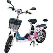 《勝一》勝一EV-16S鋰電池電動輔助自行車(粉色)
