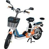 《勝一》勝一EV-16S鋰電池電動輔助自行車(橘色)
