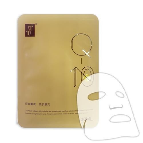 《TT 波特嫚》Q10彈力緊緻面膜(5入/盒)