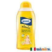 《義大利MILMIL》洋甘菊溫和嬰兒洗髮露(750ml)買就送歐美植萃香氛皂(隨機出貨)