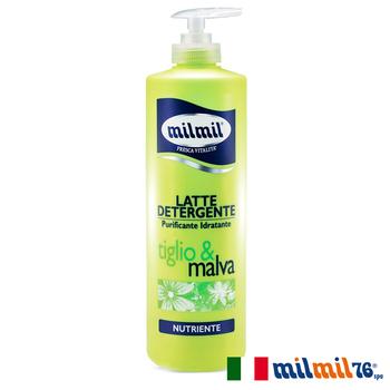 《義大利MILMIL》植萃水感溫和舒敏清潔乳-各種肌膚(500ml)
