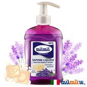 《義大利MILMIL》傳統馬賽液態皂-薰衣草(300ml)買就送歐美植萃香氛皂(隨機出貨)