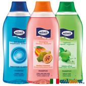 《義大利MILMIL》豐盈健髮三款清爽去屑洗髮精3入組(去屑+青蘋果+荷荷巴油)
