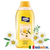 《義大利MILMIL》德國洋甘菊閃亮強韌洗髮精(燙髮適用)(750ml)買就送歐美植萃香氛皂(隨機出貨)