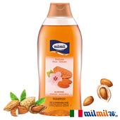 《義大利MILMIL》甜杏仁滋養修護洗髮精(乾燥適用)(750ml)買就送歐美植萃香氛皂(隨機出貨)