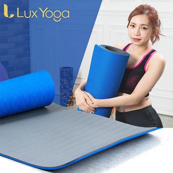 《Lux Yoga》10mm POE環保瑜珈墊/運動墊(止滑防滑加強版) yoga 國際認證 台灣製造 附背袋