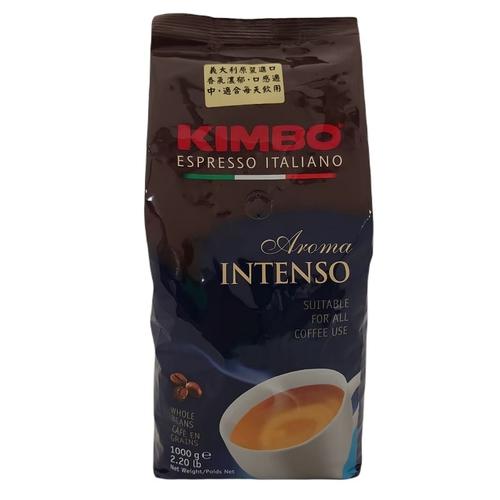 義大利進口KIMBO濃醇香氣咖啡豆(1kg/罐)