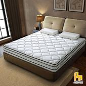 《ASSARI》瑪爾斯真四線3M防潑水竹炭獨立筒床墊(雙大6尺)