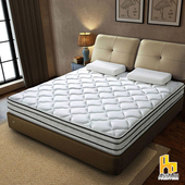 《ASSARI》瑪爾斯真四線3M防潑水竹炭獨立筒床墊雙人5尺 $3899