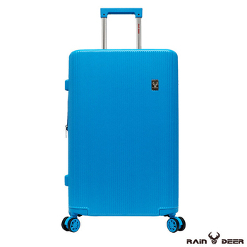 《RAIN DEER》秋之戀24吋TSA海關鎖可加大PC+ABS行李箱(天空藍)