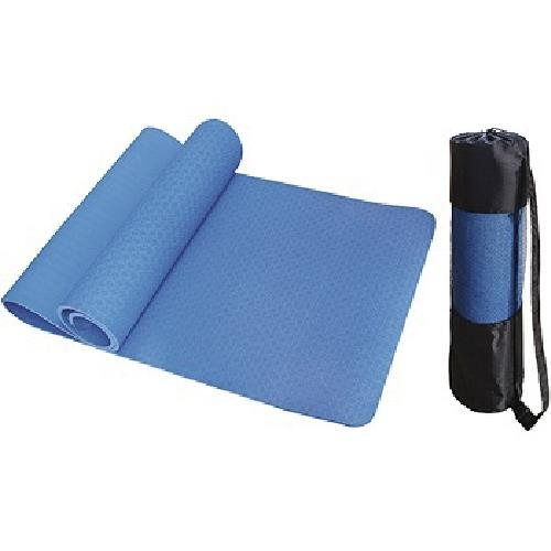《達威》環保瑜珈墊(藍)(173cm*61cm*8mm)