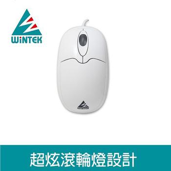 《WINTEK》WSS-91 海豚鼠 USB(白色)