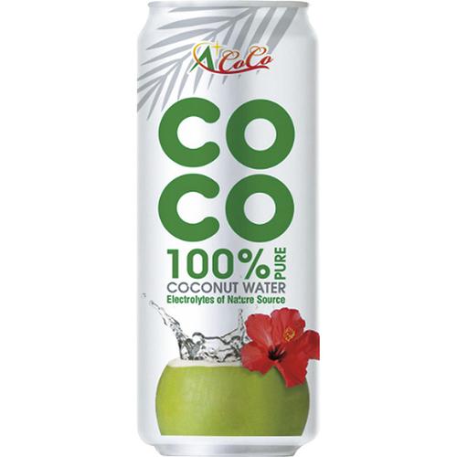 《椰活》100%純椰子水(500ml*3罐)UUPON點數5倍送(即日起~2019-08-29)