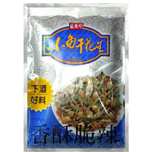盛香珍 小魚干花生(60g/包)