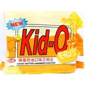 《Kid-O日清》三明治餅乾-蜂蜜奶油口味(300g/袋)