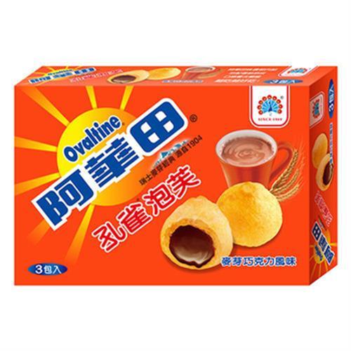 孔雀 泡芙 165g/盒(阿華田 165g/盒)