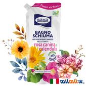 《義大利MILMIL》植粹玫瑰&金盞花亮白沐浴露補充包/750ml $250