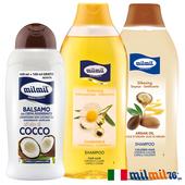 《義大利MILMIL》染燙專用洗護髮專用超值3入組(洋甘菊洗髮+摩洛哥油洗髮+椰子油護髮)