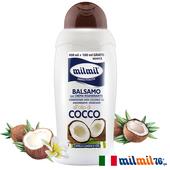 《義大利MILMIL》椰子油染燙深層修護潤髮乳(500ml)
