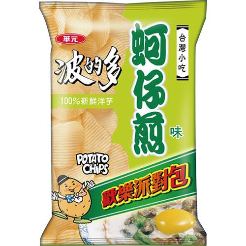 波的多 洋芋片派對包-150g/包(蚵仔煎味)