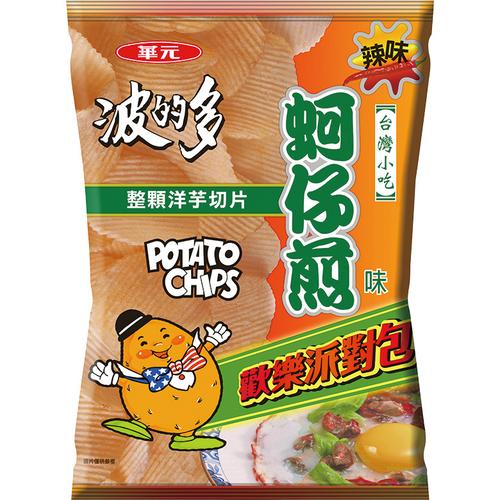 波的多 洋芋片派對包-150g/包(蚵仔煎辣味)