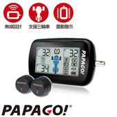 《PAPAGO》PAPAGO ! TireSafe M10E獨立型機車用胎壓偵測器(胎外式)